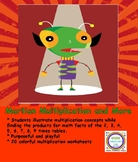 Martian Multiplication Concepts and More Read Draw Write