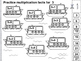 Multiplication Cut and Paste Worksheets