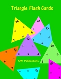 Multiplication / Division   Flash Cards Triangles - 11 pag