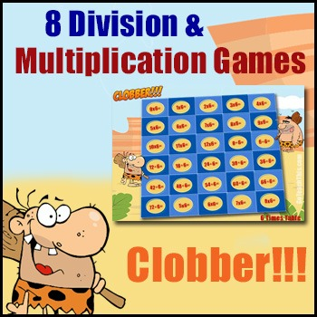 Math Game - Multiplication Games & Division Games - {In On