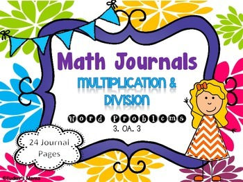 Multiplication & Division Math Journals