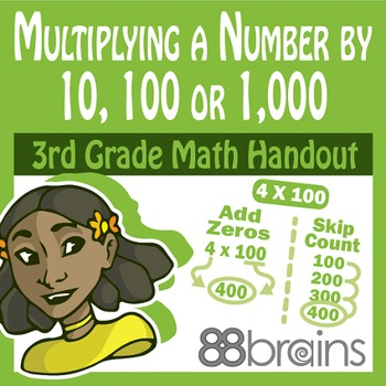 Multiplication & Division: Multiplying a Number by 10, 100