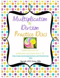 Multiplication & Division Practice Discs
