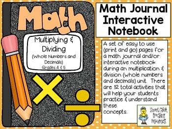Multiplication & Division (grades 4 & 5) ~ Math Interactiv