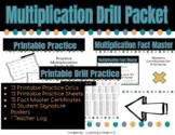 Multiplication Drill Packet