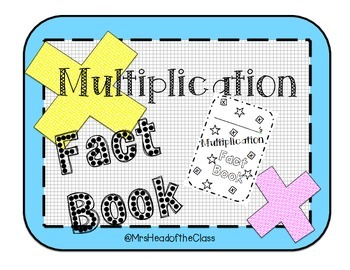 Multiplication Fact Book