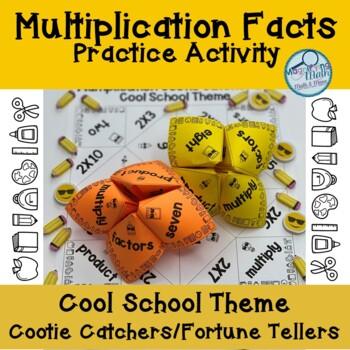 Multiplication Fact Cootie Catchers