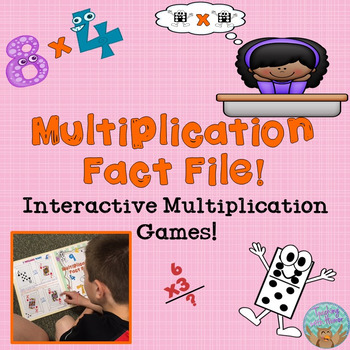 Multiplication Fact File! Interactive Multiplication Games!
