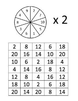 Multiplication Fact Games