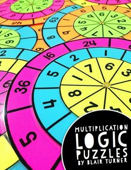 Multiplication Fact Logic Problems