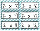 Multiplication Fact Practice COLORED
