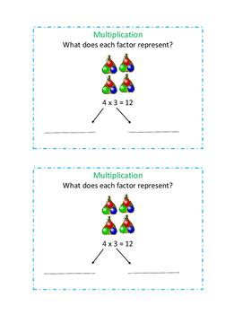 Multiplication - Factors