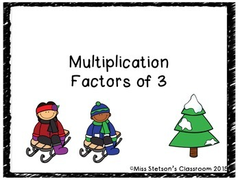 Multiplication Factors to 3