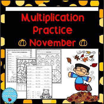 Multiplication Facts - November