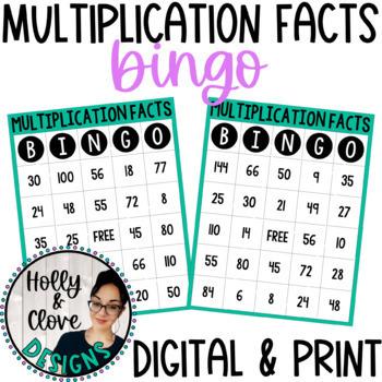 Multiplication Facts BINGO
