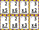 Multiplication Facts Flash Cards Small