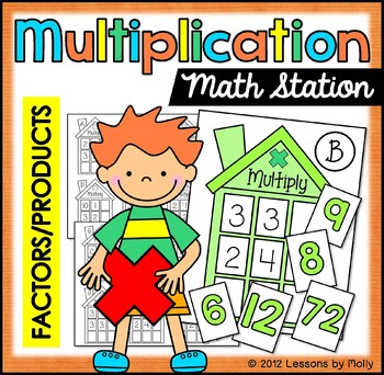 multiplication facts function tables a learning center to