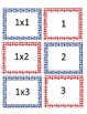 Multiplication Facts Memory Game