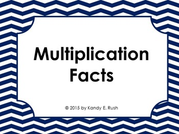 Multiplication Flash Card PowerPoint Slide Show