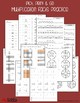 Multiplication Facts Practice, Multiplying by 2-10 Workshe