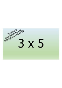 Multiplication Facts SMART Clickers practice/quiz