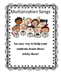 Multiplication Facts Songs