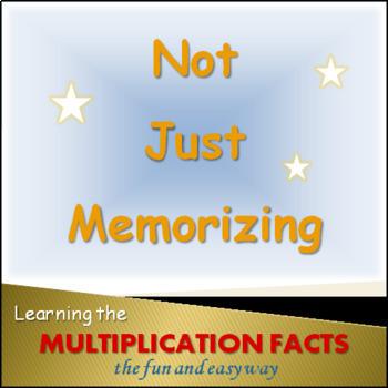 Multiplication Facts: fun & easy activities NOT JUST MEMORIZING
