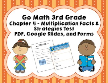 Multiplication Facts and Strategies Test (Go Math 3rd Grad