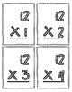 Multiplication Flash Cards - 12