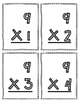 Multiplication Flash Cards - 9