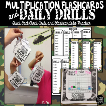 Multiplication Flashcards and Fact Tests