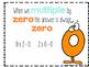 Multiplication Flashcards and Activities x 0, x 1-Fact Flu