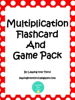 Multiplication Flashcards and Games