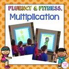 Multiplication Math Facts Fluency & Fitness Bundle