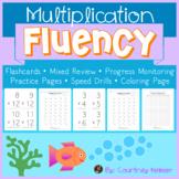 Multiplication Fluency Reinforcement Activities {Flashcard