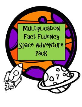 Multiplication Fluency Space Adventure Pack