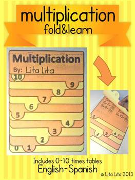 Multiplication Fold and Learn