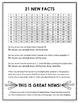 Multiplication Memorization Charts FREE