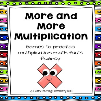 Multiplication Games- More and More Multiplication