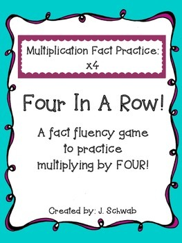 Multiplication Game: 4 In A Row