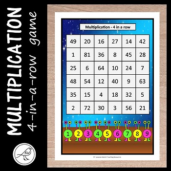 Multiplication Game – 4 in a row