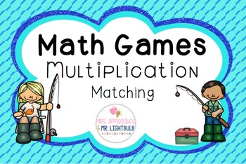 Multiplication Facts Game Matching