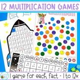 Multiplication Games for each Multiplication Fact