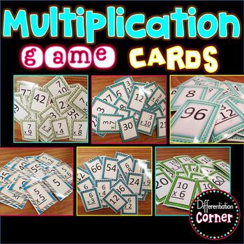 Multiplication Game **BUNDLE**