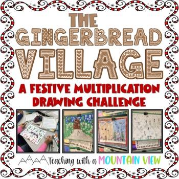 Multiplication Gingerbread Village