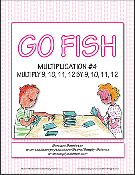 Multiplication Go Fish 4