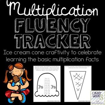 Multiplication Fluency Tracker Craftivity