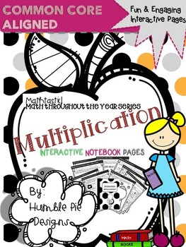 Multiplication Interactive Notebook Pages