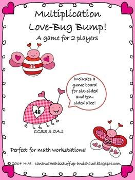 Multiplication Love Bug Bump