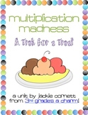 Multiplication Madness: A Trek for a Treat